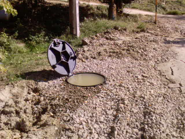 Skúšky tesnosti šachty vodou č.2 10a0ef14359